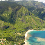 Aerial Views of Kauai North Shore