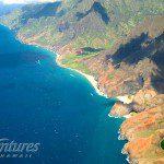 Aerial NaPali Coast
