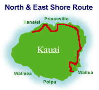North & East Shore Route
