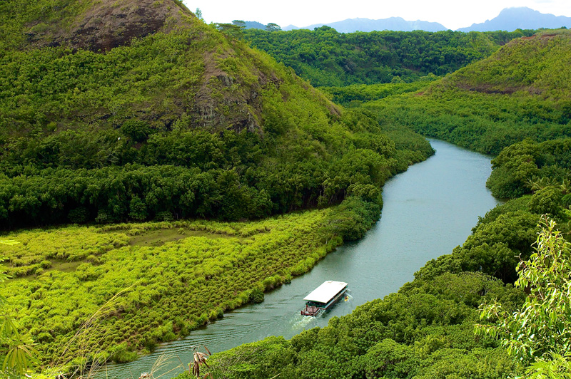 Wailua River Cruise Kauai Air Tour Best Of Kauai Tour